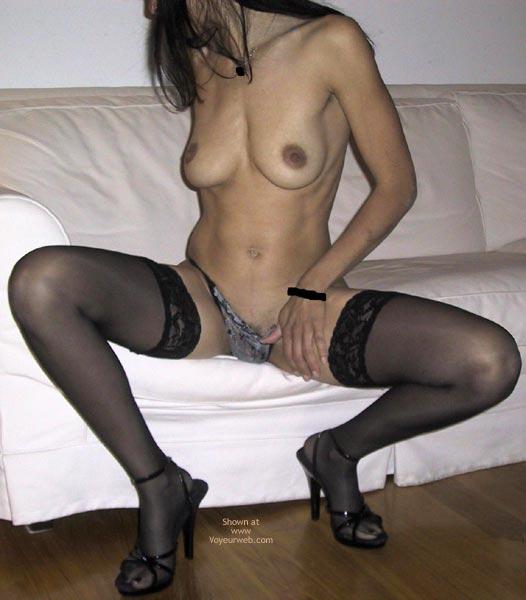 Pic #5 - Mia Moglie Elisa In Black Stockings And Heels