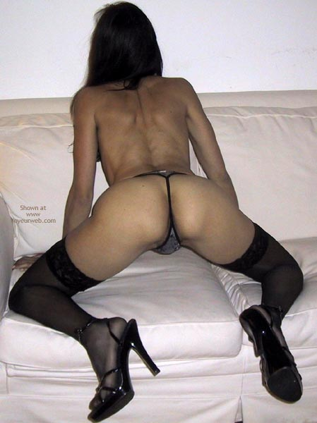Pic #8 - Mia Moglie Elisa In Black Stockings And Heels
