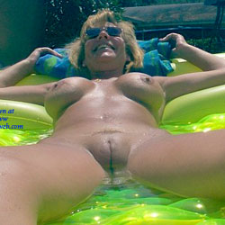 Having Fun - Nude Amateurs, Big Tits, Outdoors