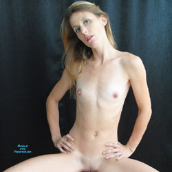 Blue Undress - Nude Girls, Blonde, Small Tits, Shaved