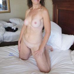 Window Shopping - Nude Amateurs, Big Tits, Brunette, Shaved