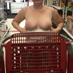 Large tits of my wife - Wife at Target