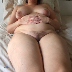 Nude Wife In Bed - Nude Wives, Big Tits, Bush Or Hairy, Amateur