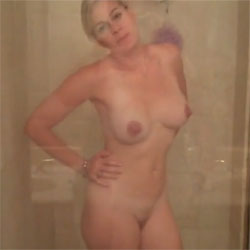 My Wife Taking A Shower - Nude Wives, Big Tits, Amateur