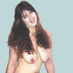 Crystal Showing Off - Nude Amateurs, Big Tits, Brunette, Bush Or Hairy