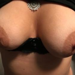 Medium tits of my wife - SexyOne