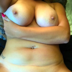 Sexy New Boots - Big Tits, Blonde, Shaved, Amateur