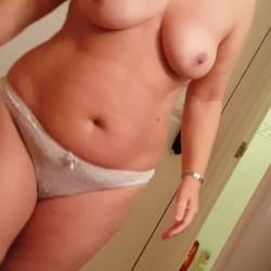 Medium tits of my wife - Mybell