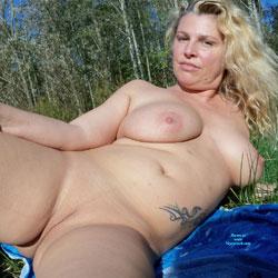 Nice October Day - Nude Amateurs, Big Tits, Outdoors