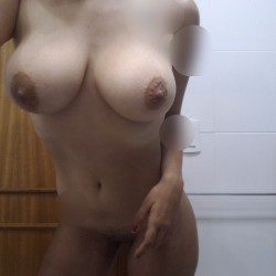Large tits of my girlfriend - Fernanda