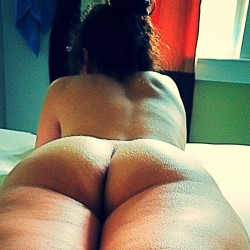 My girlfriend's ass - Halime