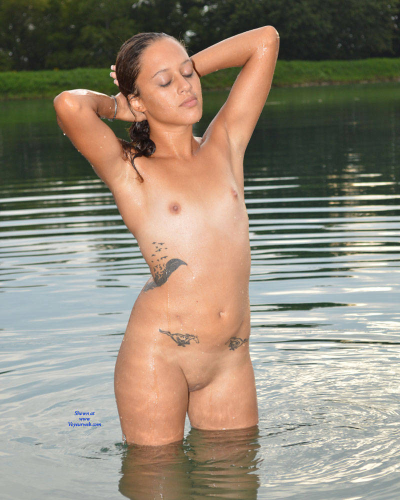 Skinny dipping babes