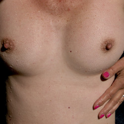 Medium tits of my wife - Zazou