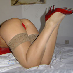 Sexy In Red - Lingerie, Amateur