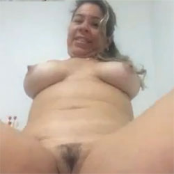 On The Webcam - Big Tits, Brunette, Bush Or Hairy, Amateur