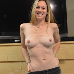 Large tits of my wife - jane doe