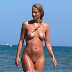 Summer Time! - Nude Girls, Outdoors, Shaved, Beach Voyeur