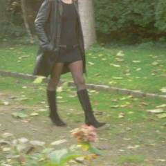 Nadia - Exposed In Public, Nude In Public , Nadia Flashing For A Voyeur In A Wood...