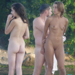 Naked Strangers - Nude Girls, Outdoors, Beach Voyeur