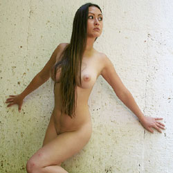 Tunnel - Big Tits, Brunette Hair, Naked Girl