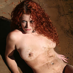 Beach Sand - Nude Girls, Big Tits, Outdoors, Redhead, Beach