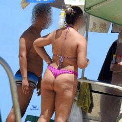 Hot Dog In Pina Beach, Recife City - Outdoors, Bikini Voyeur