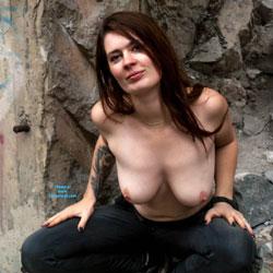 Topless Urbex! - Topless Girls, Big Tits, Outdoors, Amateur