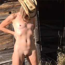 Nirvana Haunted Cabin - Nude Amateurs, Outdoors, Small Tits, Shaved