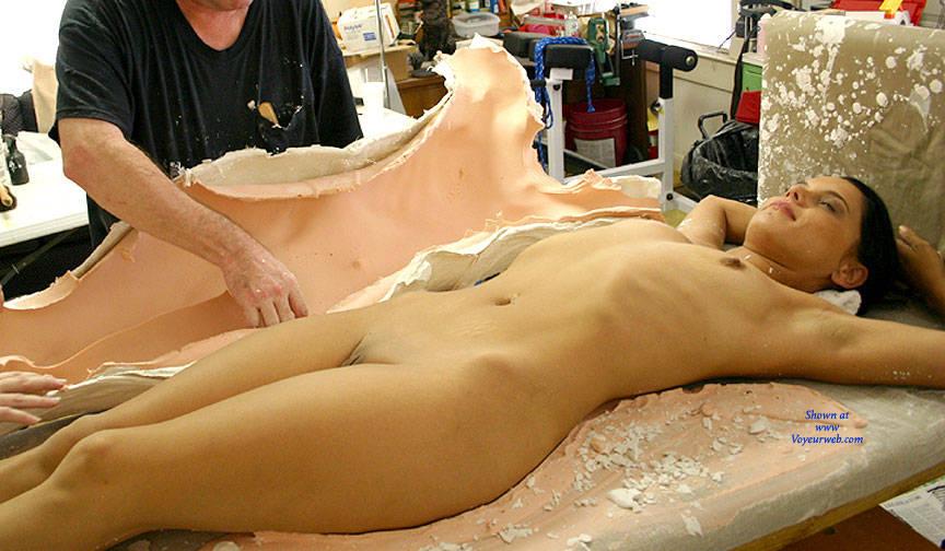 from Ricardo full body cast nudity