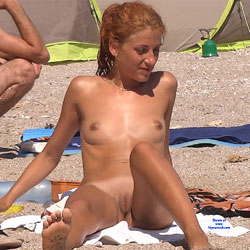 Red Haired Beauty - Nude Girls, Beach, Outdoors, Redhead, Shaved, Firm Ass, Beach Voyeur
