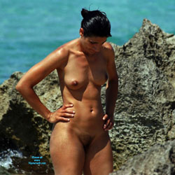 Wives From Recife City, Brazil - Nude Girls, Beach, Brunette, Outdoors, Beach Voyeur