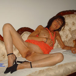 Small Breasted - Brunette, High Heels Amateurs, Small Tits, Shaved, Mature