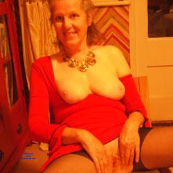 A Quiet Evening In - Big Tits, Lingerie, Mature, Shaved, Amateur, Blowjob