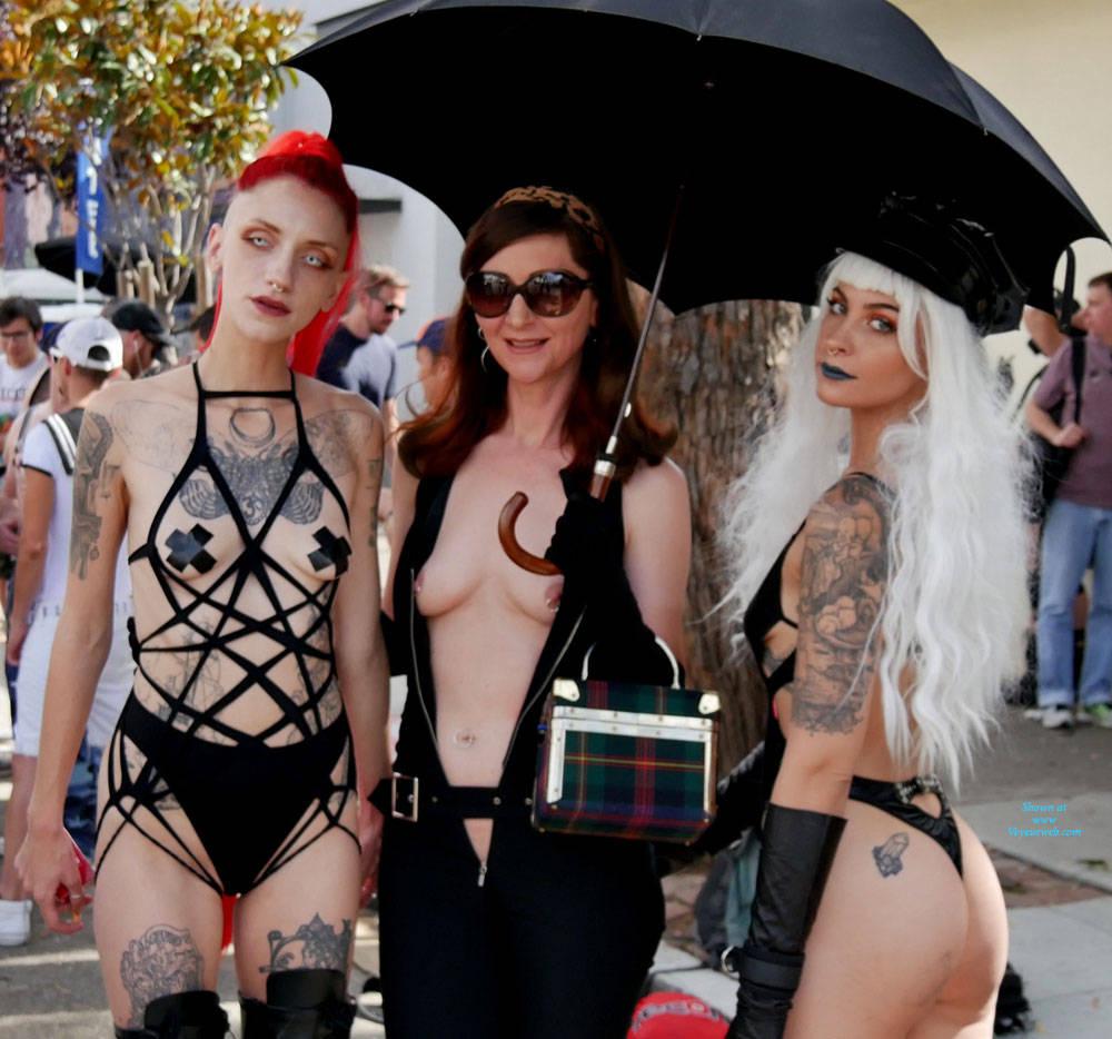 Pic #5 Folsom Street Fair 2017 1 - Lingerie, Outdoors