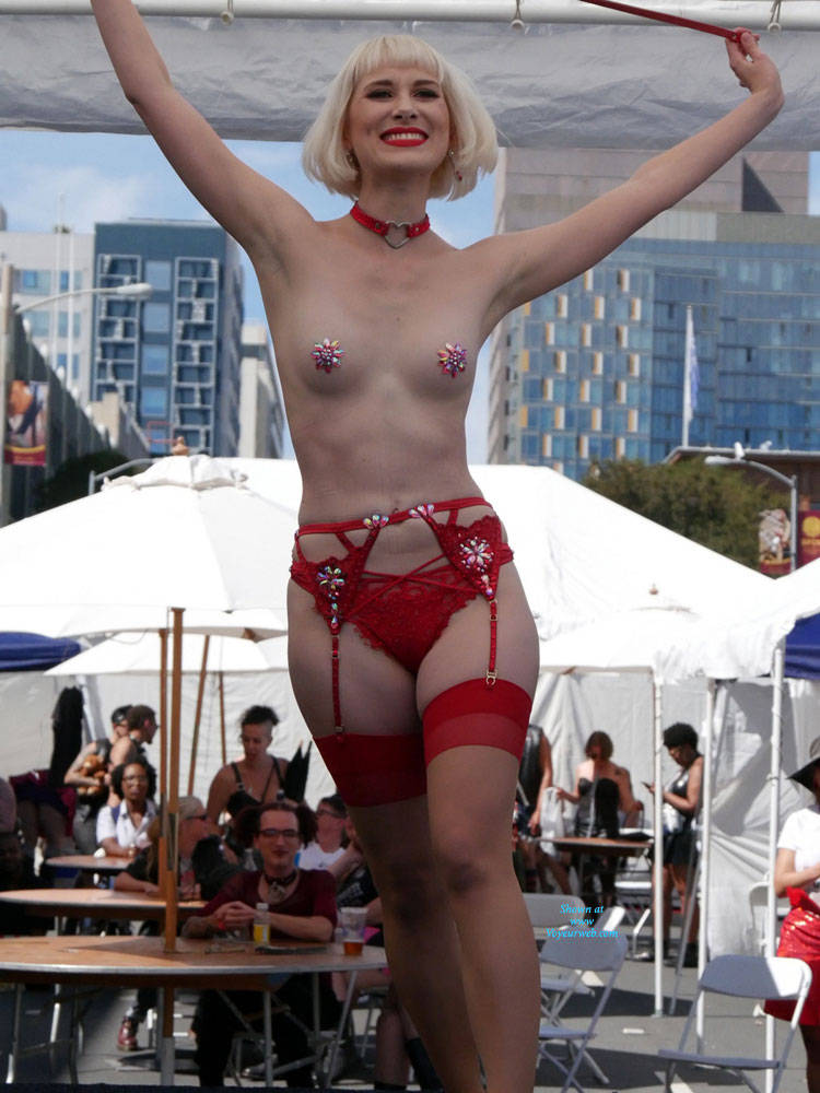 Pic #10 Folsom Street Fair 2017 1 - Lingerie, Outdoors