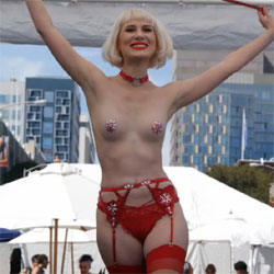 Folsom Street Fair - Lingerie, Outdoors