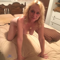 First Time For Tina - Nude Amateurs, Big Tits, Blonde, Bush Or Hairy