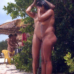Two Friends In Tambaba Beach, Brazil - Nude Girls, Outdoors, Beach Voyeur