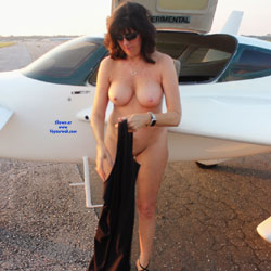 High Flyer 2 - Nude Amateurs, Big Tits, Brunette, Outdoors, Shaved
