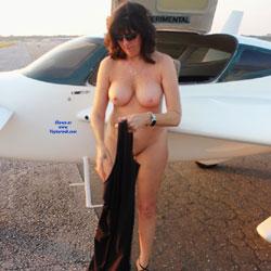 High Flyer 2 - Nude Amateurs, Big Tits, Brunette, Outdoors, Shaved