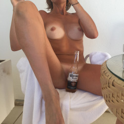 Medium tits of my ex-girlfriend - Cleo!