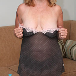 Trying This Out - Big Tits, Lingerie, See Through, Amateur