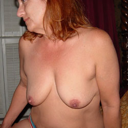 Hanging Out - Big Tits, Redhead, Amateur