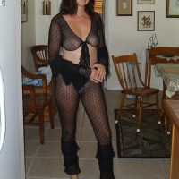 Black Lingerie for Candi Annie - Brunette, Lingerie, Wife/Wives