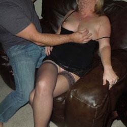 A Very Fun Evening - Big Tits, Blowjob, Lingerie, Amateur