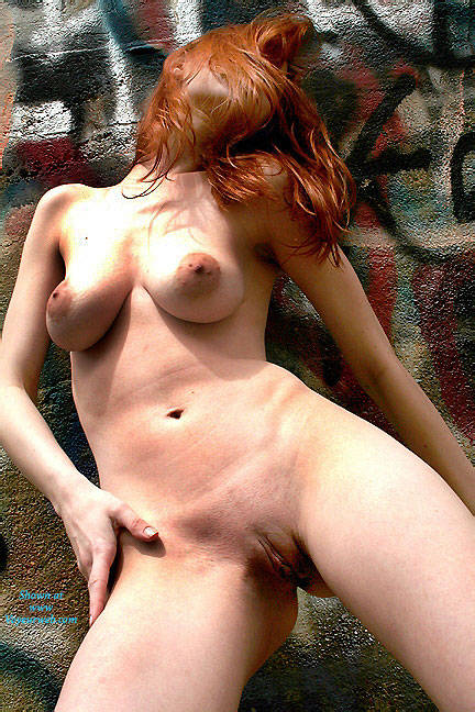 Pic #3 Art Wall - Nude Girls, Big Tits, Outdoors, Redhead, Shaved