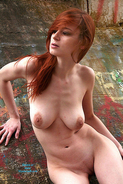 Pic #7 Art Wall - Nude Girls, Big Tits, Outdoors, Redhead, Shaved