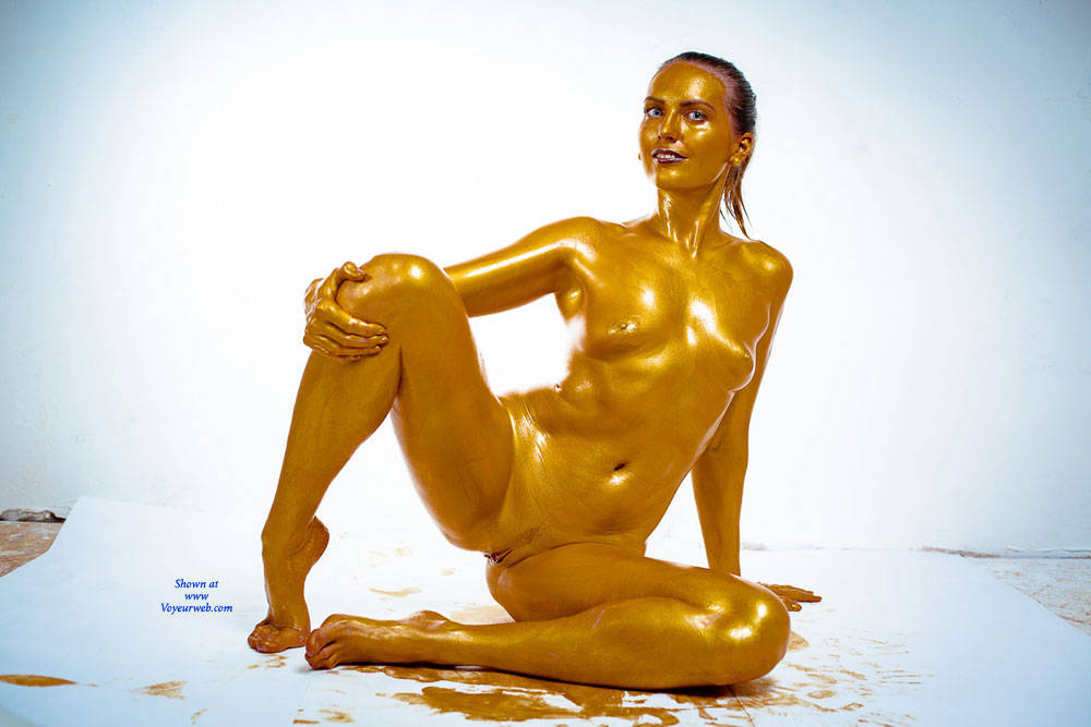 Naked Golden Lady - Artistic Nude, Full Nude, Natural Tits, Nipples, Pussy Lips, Shaved Pussy, Showing Tits, Hot Girl, Naked Girl, Sexy Body, Sexy Face, Sexy Feet, Sexy Figure, Sexy Girl, Sexy Legs, Sexy Woman, Face Sitting , Naked, Painted, Golden, Face Sitting, Shaved Pussy, Sexy Legs, Natural Tits