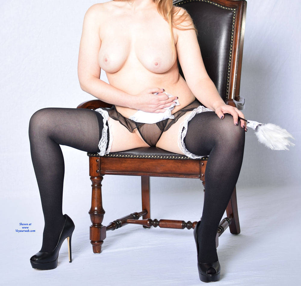 Pic #5 A Dirty Little Maid - Wives In Lingerie, High Heels Amateurs, Big Tits