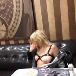 Medium tits of my wife - Natali